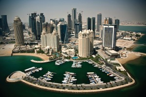doha aerial view